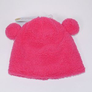 Cat & Jack Girl's Sherpa Hat Pink Size 4-7 New